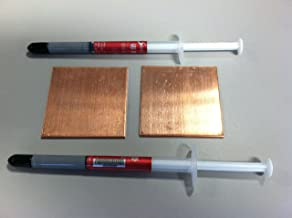 PS3 Fat Slim Copper Pad Shims Shim Heatsink YLOD Repair Kit Fix + Thermal Paste