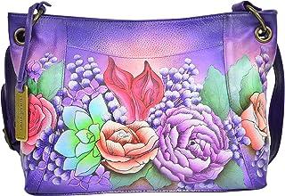Anuschka Medium With Front Pocket Shoulder Bag