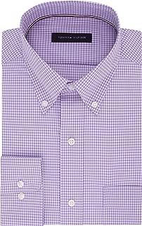 Tommy Hilfiger Men's Dress Shirt Regular Fit Non Iron Gingham