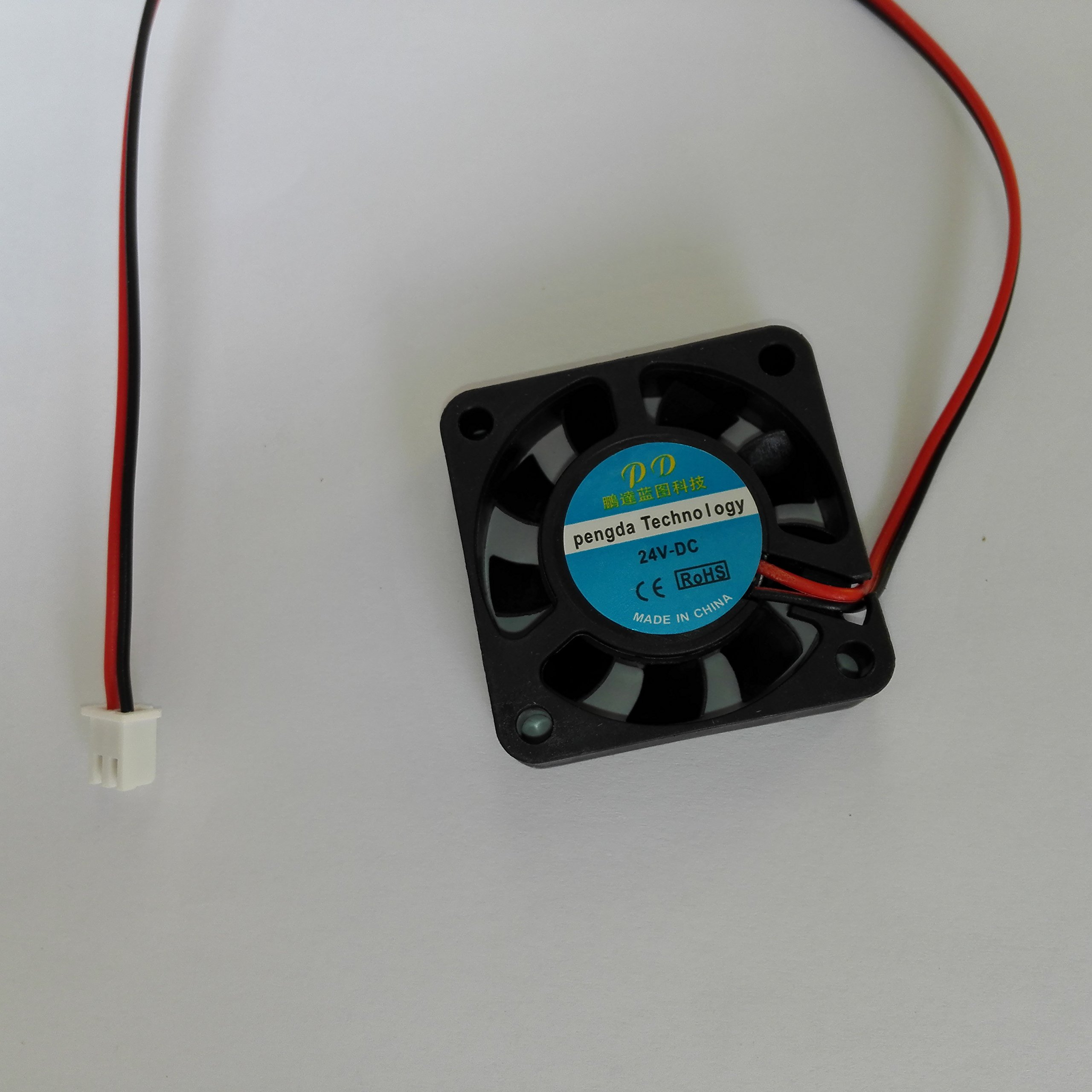 3D de la impresora 24V DC 40 * 40 * 10 mm Ventilador de ...