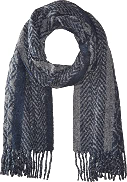 Scotch & Soda - Big Scarf in Mix & Match Graphical Patterns