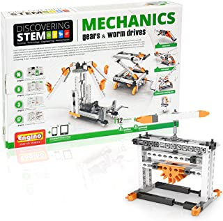 Engino STEM Gears and Worm Drives Set