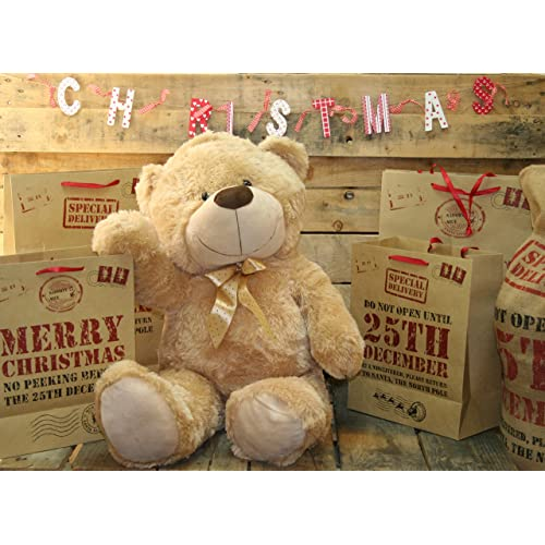 6fa49e409ea Extra Large 80Cm Super Cuddly Plush Giant Sitting Teddy Bear Soft Toy  (Cookie)