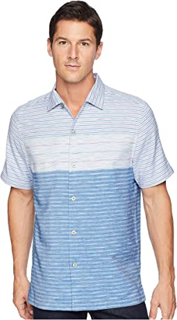 Agua Azul Stripe Camp Shirt