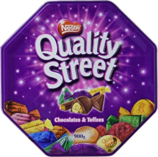 Nestle Quality Street Tin Extra Large, Can, Assorted Chocolates, Imported from United Kingdom 2lbs