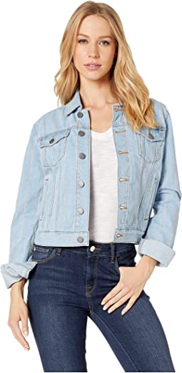 Denim Pinstripe Jacket