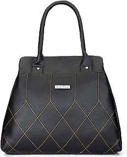 Aisna Women's Cherry Handbag(ASN-202)(Black)