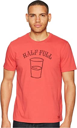 Half Full Crusher Tee