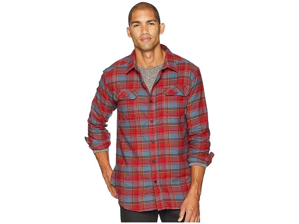 Columbia Flare Guntm Flannel III Long-Sleeve Shirt (Mountain Small Plaid) Men