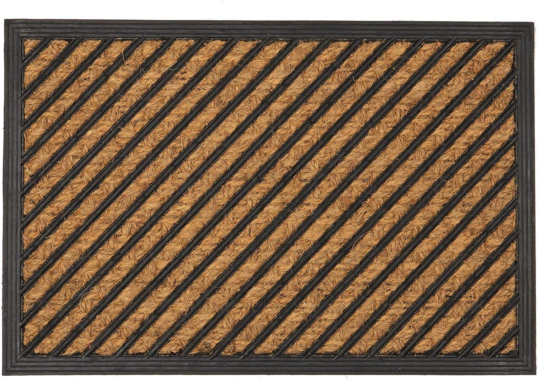 Nicola Spring Heavy Duty In stock Door Mat 60 x - 40cm Challenge the lowest price Diagonal