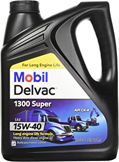 Mobil 1 112786 15W-40 Delvac 1300 Super Motor Oil - 1 Gallon