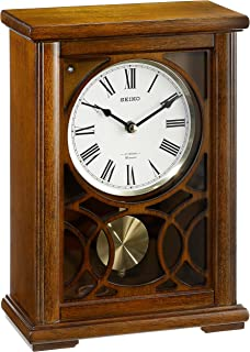 SEIKO 12 in. Pendulum Chiming Mantel Clock