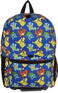 FAB Starpoint Backpack - Pokemon - Blue Pattern w/Friends 16 School Bag 855472