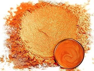 "Eye Candy Mica Powder Pigment ""Rainbow Orange"" (50g) Multipurpose DIY Arts and Crafts Additive | Woodworking, Natural Bath Bombs, Resin, Paint, Epoxy, Soap, Nail Polish, Lip Balm"