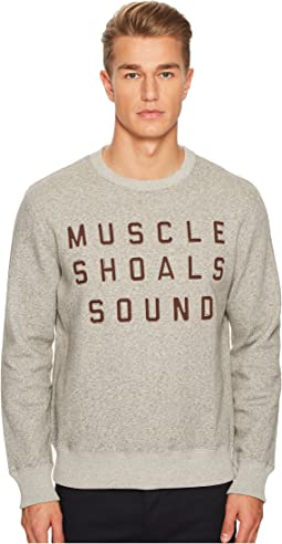 Billy Reid - Muscle Shoals Sound Fleece Crew Sweatshirt