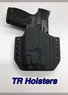 Black Kydex Holster Compatible with M&P 2.0c Streamlight TLR-7