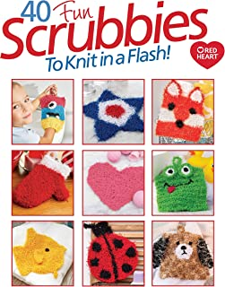 40 Fun Scrubbies to Knit in a Flash!-Create Whimsical and Unique Designs With These Simple Patterns and Helpful Tutorial Videos from Go-Crafty.com