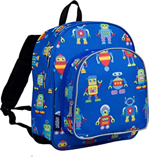 Wildkin Men's 12 Inch Backpack Daycare Preschool And Kindergarten Patterns Coordinate With Our Nap Mats And Lunch Boxes