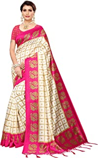 Pisara Women Mysore Art Silk Printed Saree