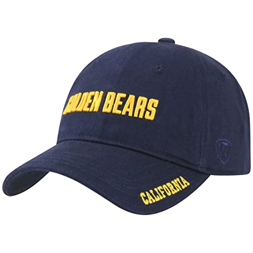 d9b857c1897c3 Top of the World Cal Bears Official NCAA Adjustable Stirke Hat Cap 285863