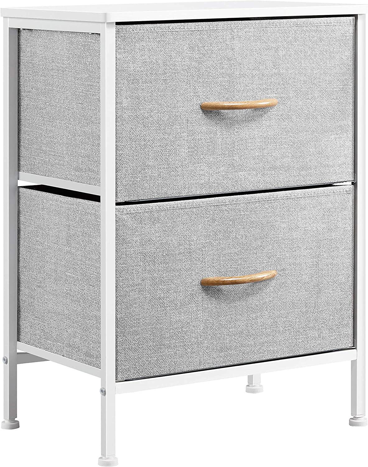 Topeakmart 2-Drawer Nightstand Special Directly managed store sale item End Stor Dresser Vertical Table