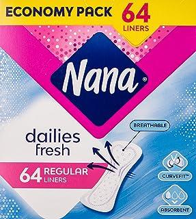 Nana Panty Liners, Normal, Pack of 64