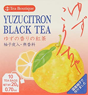 Tea Boutique Yuzu Citron Black Tea Bag (2gx10p), 20G