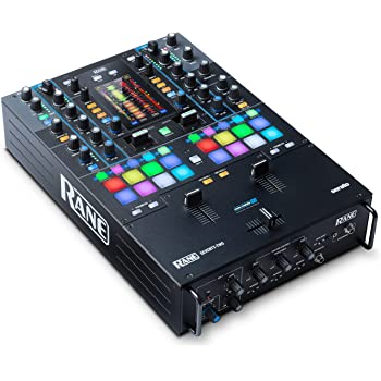 RANE DJ SEVENTY-TWO – Two-Channel Mixer with Solid Steel Construction, MAG Three Contactless Faders, 4.3-Inch Touchscreen, Dual Flex FX Engines and Dual USB Connections for Seamless Handoffs