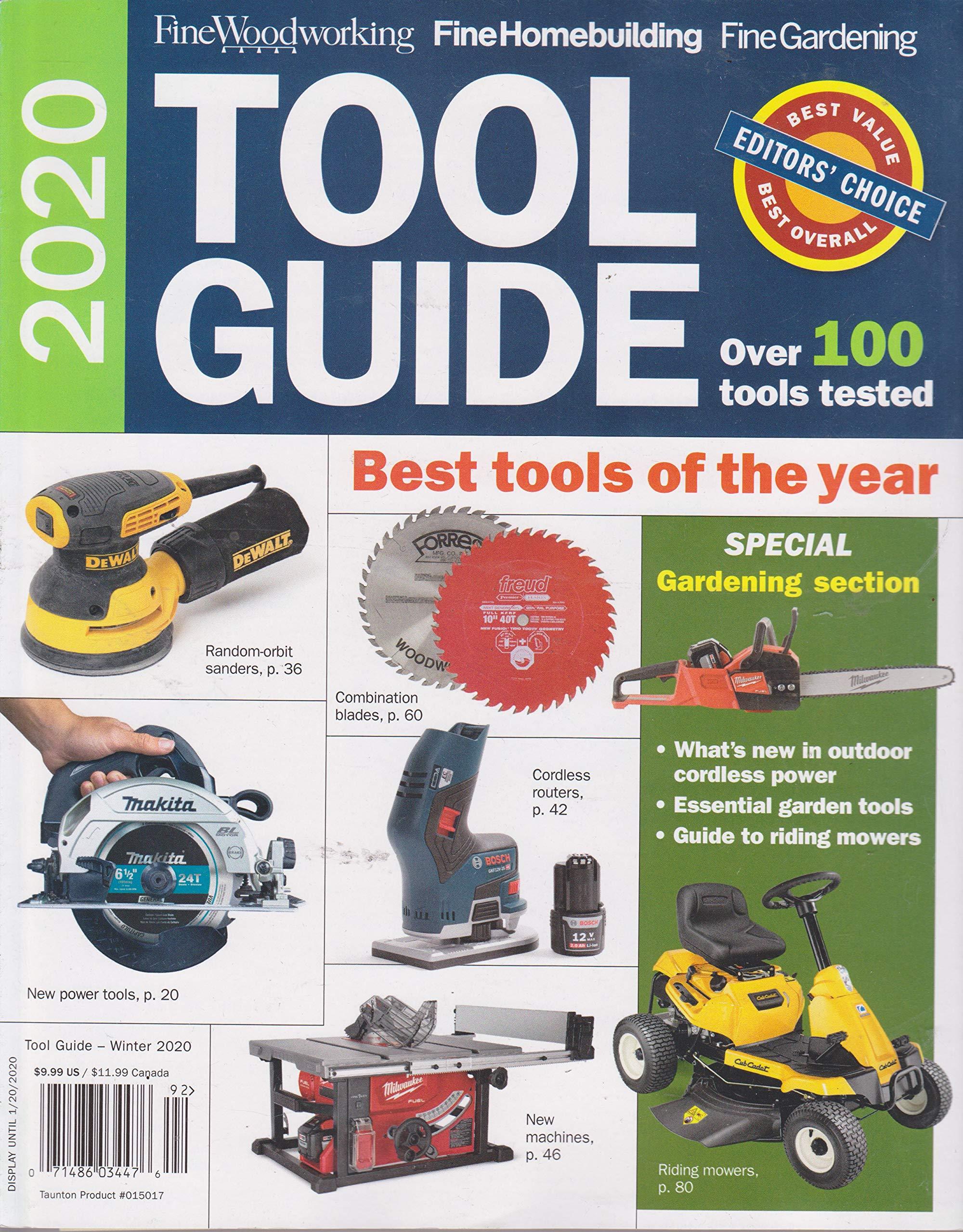 Fine Woodworking Tool Guide Winter 2020 Buy Online In Pakistan At Desertcart