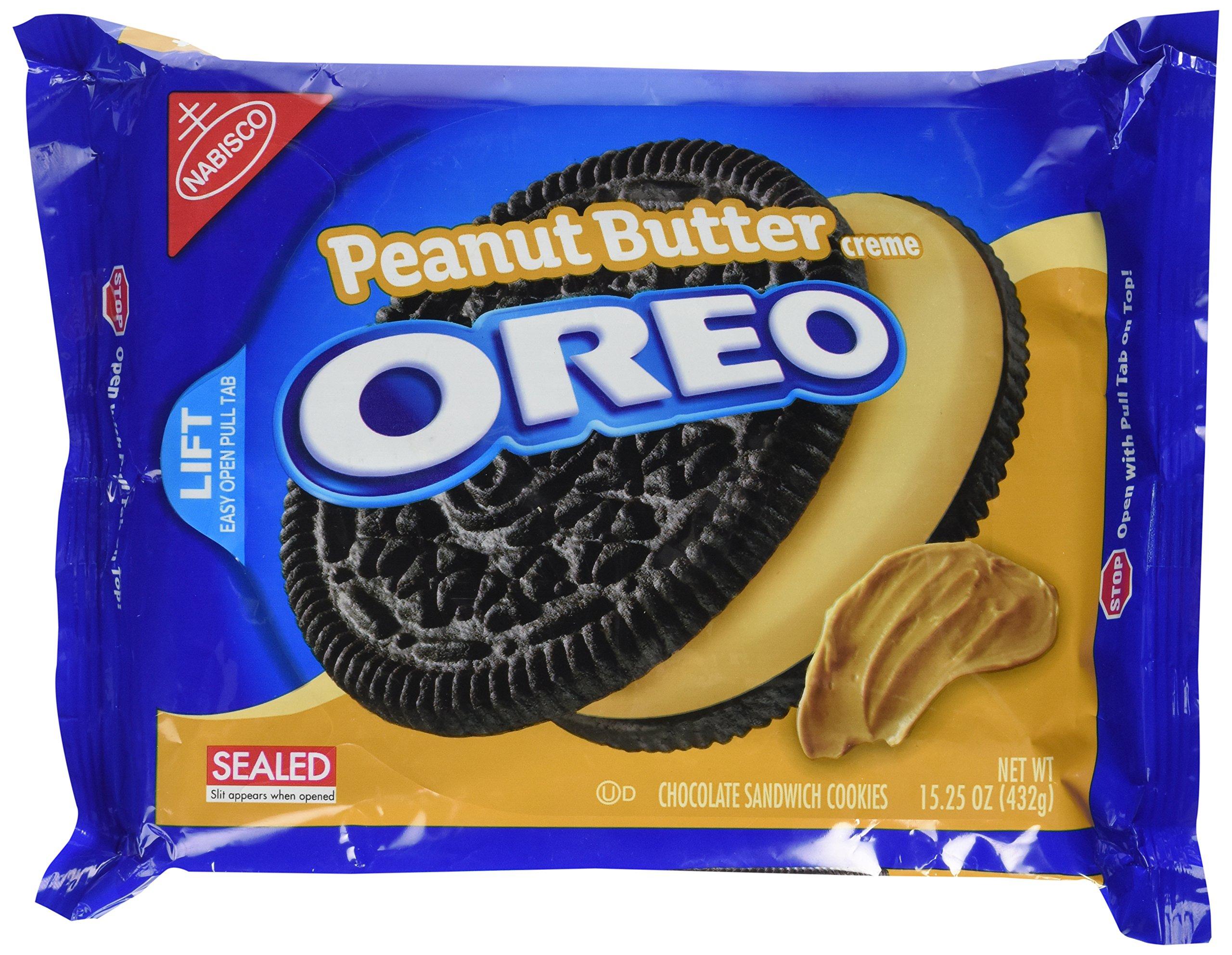 Oreo Peanut Butter Creme 432g: Amazon.es: Electrónica