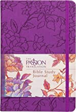 The Passion Translation Bible Study Journal: Peony (Imitation Leather) – Beautiful Journal for Studying Scripture, Perfect Gift for Friends, Family, Birthdays, Holidays, and More.