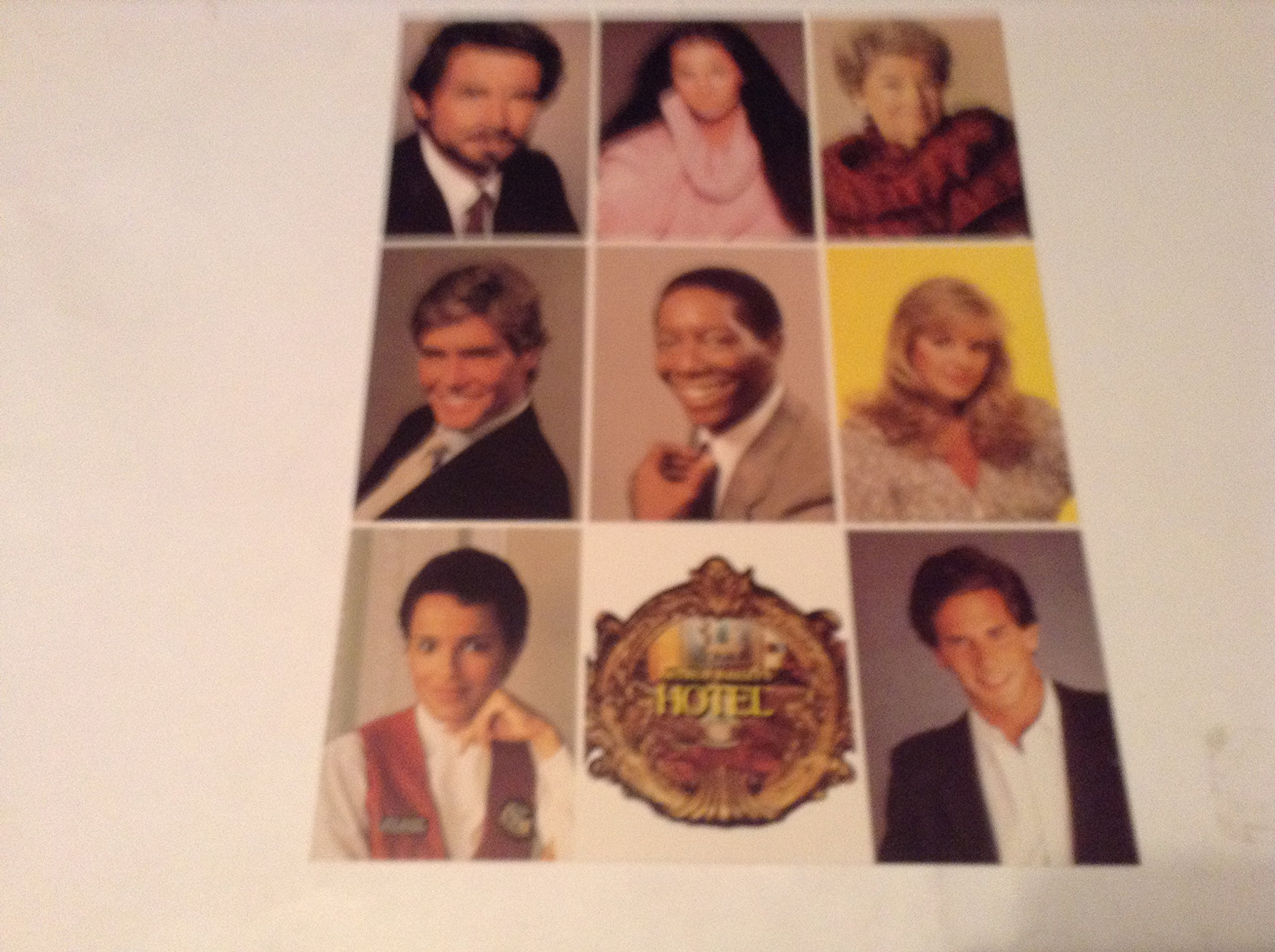 Arthur Hailey's Hotel Photo Sheet
