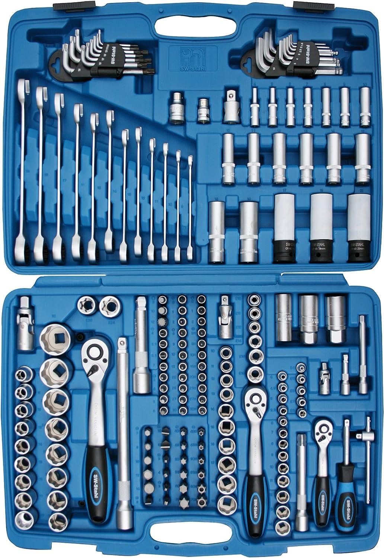 SW-Stahl 07635L Industriekoffer, Industriekoffer, Industriekoffer, 176-teilig B006VFBDZY | Verkauf  0c27d6