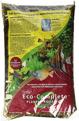 discount CaribSea discount Eco-Complete 20-Pound Planted wholesale Aquarium, Black online sale