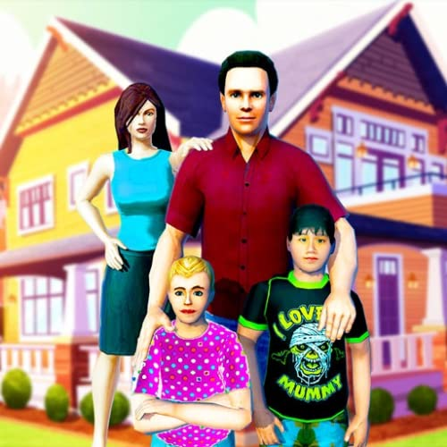 juego de simulador de familia virtual simulador de madre de trabajo juegos de guardería de familia feliz 3D