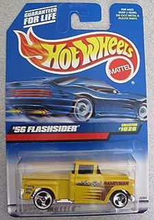 Hot Wheels 1998 '56 Flashsider Truck Yellow #1028 Hot Rod Handyman