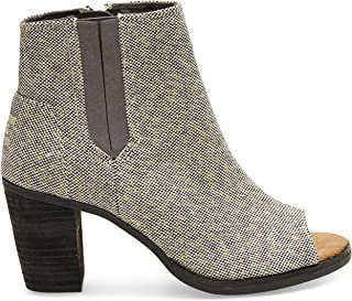 Women's Majorca Peep Toe Casual Shoe (5 B(M) US, Grey Metallic)