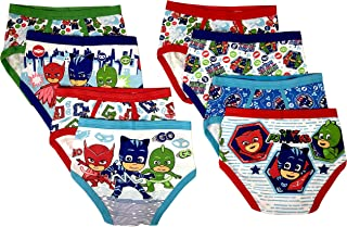 Handcraft PJ Masks Boys Kids Underwear - 8-Pack Toddler/Little Kid/Big Kid Size Briefs Catboy Owlette Gekko