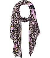 Kate Spade New York - Flair Flora Oblong Scarf
