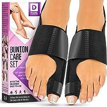 Orthopedic Bunion Corrector (2pcs) - Bunion Splint   Non-Surgical Hallux Valgus Correction - Hammer Toe Straightener - Big...