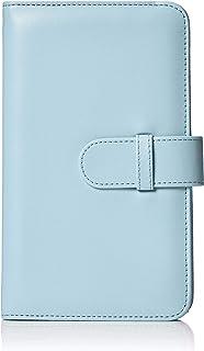 AmazonBasics - Álbum tipo billetera para 108 fotos Instax Mini color azul hielo