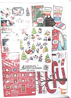 Chocolate Advent Calendar Trader Joe's 5 pack 2018 bundle for kids and adults