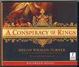 A Conspiracy of Kings by Megan Whalen Turner Unabridged CD Audiobook (The Attolia Series, Book 4)