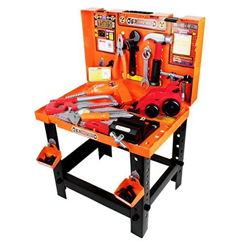 Awesome Toddler Work Bench Amazon Com Pabps2019 Chair Design Images Pabps2019Com
