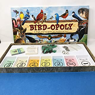 New Late For The Sky Bird-Opoly Features Backyard Rare And Favorite Birds Of North America