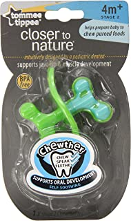 Tommee Tippee Closer to Nature Stage 2 Easy Reach Chewther, 4Months plus (Discontinued by Manufacturer)
