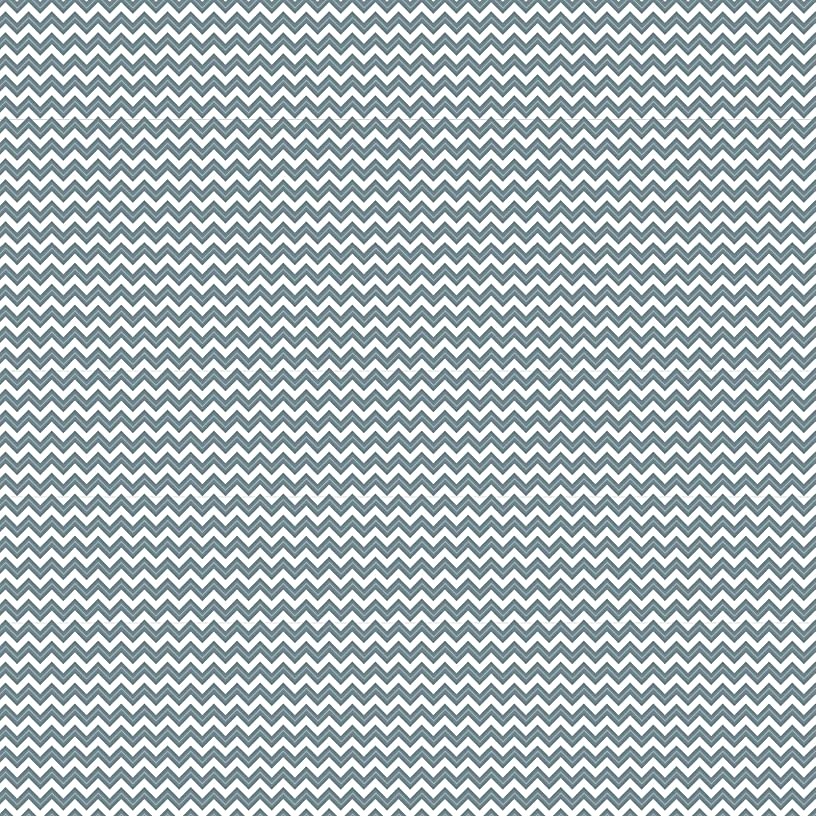 American Crafts Core'dinations 12 Pack of 12 x 12 Inch Patterned Paper Grey Chevron,
