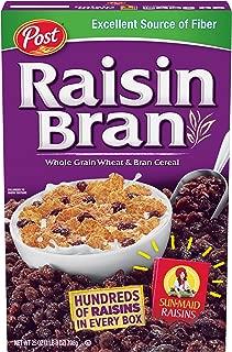 Post Raisin Bran Whole Grain Wheat & Bran Cereal 25 oz. Box