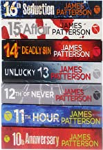 James Patterson's Collection The Women Murder Club Set of 7 Books (10-16) (Anniversary, Hour, Never, Unlucky, Deadly Sin, ...