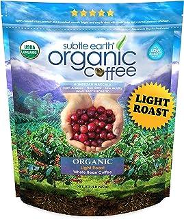 2LB Cafe Don Pablo Subtle Earth Organic Gourmet Coffee – Light Roast – Whole..